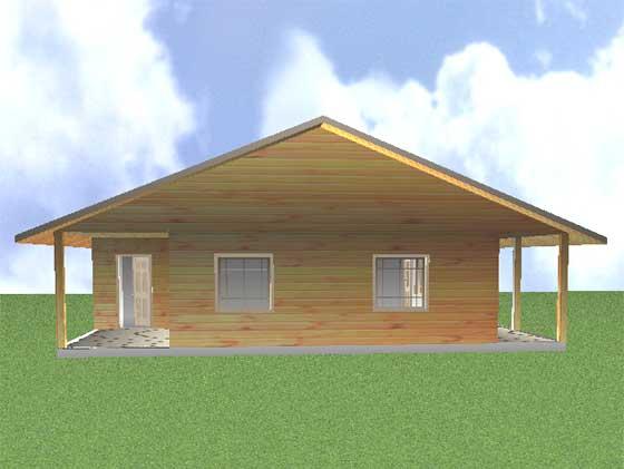 Maison bois krelinga 105 m for Id maison bois