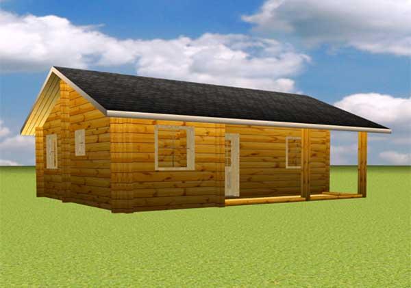 Prix kit maison bois extension bois avec sas de liaison robin wood de votre maison en bois - Prix maison en bois en kit ...